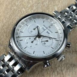 Maurice Lacroix Maurice Lacroix Les Classiques chronograph steel LC1008-ss002-130