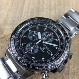 Seiko Seiko Prospex Sky chronograph Solar SSC009P1 horloge