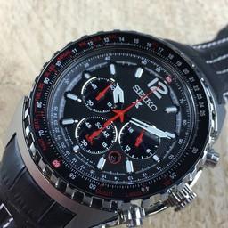 Seiko Seiko Prospex Solar chronograph SSC261P2 horloge