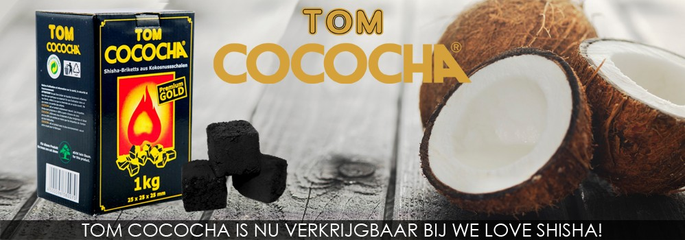 Tom Cococha is nu verkrijgbaar bij We Love Shisha!