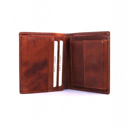 Burkely portemonnees Heren portemonnee cognac Burkely 31.07.27C