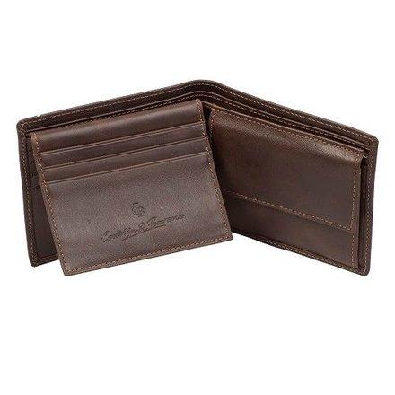 Castelijn & Beerens Heren portemonnee bruin Castelijn & Beerens 484190 MO