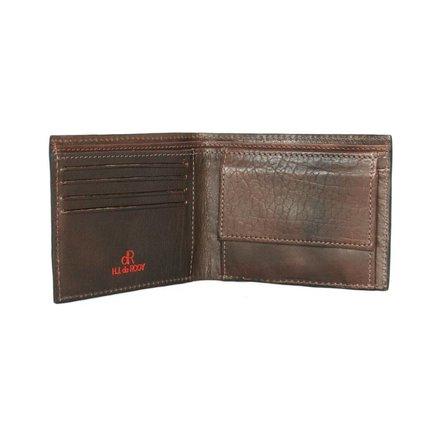 HJ de Rooy Heren portemonnee donkerbruin HJ de Rooy 78581 M