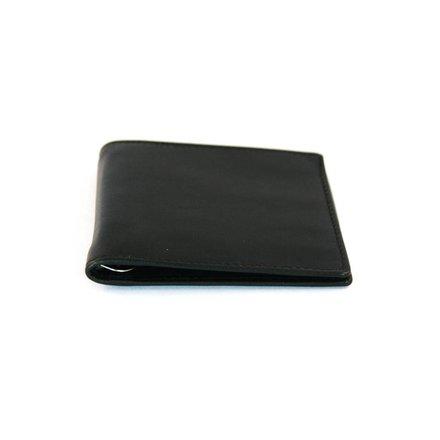Leather Design Heren dollarclip/geldclip zwart Leather Design KA1057