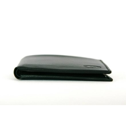 Leather Design Heren portemonnee zwart Leather Design KA1742