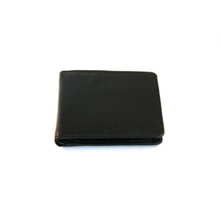 Leather Design Heren portemonnee zwart Leather Design LA3