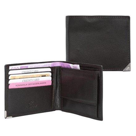 HJ de Rooy Heren portemonnee zwart HJ de Rooy 15581