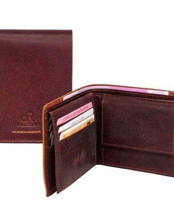 HJ de Rooy Heren portemonnee bruin HJ de Rooy 91524