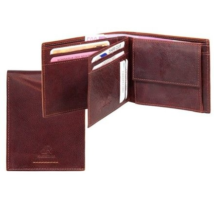 HJ de Rooy Heren portemonnee bruin 91559 HJ de Rooy