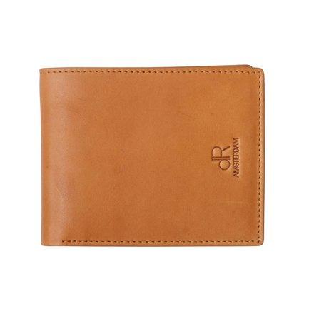 HJ de Rooy Heren portemonnee cognac HJ de Rooy 94574