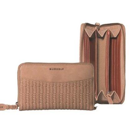 Burkely portemonnees Dames portemonnee cognac Burkely 880366.25