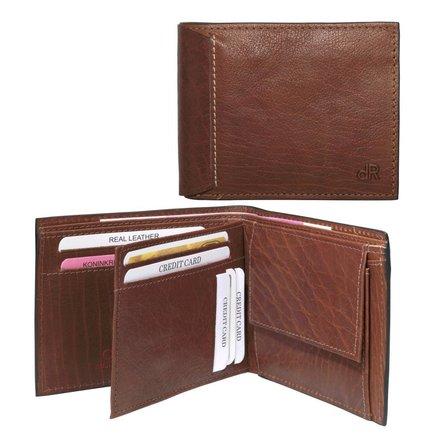 HJ de Rooy Heren portemonnee chestnut HJ de Rooy 78559 C