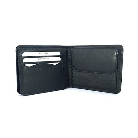 Burkely portemonnees Heren portemonnee zwart Burkely 5900