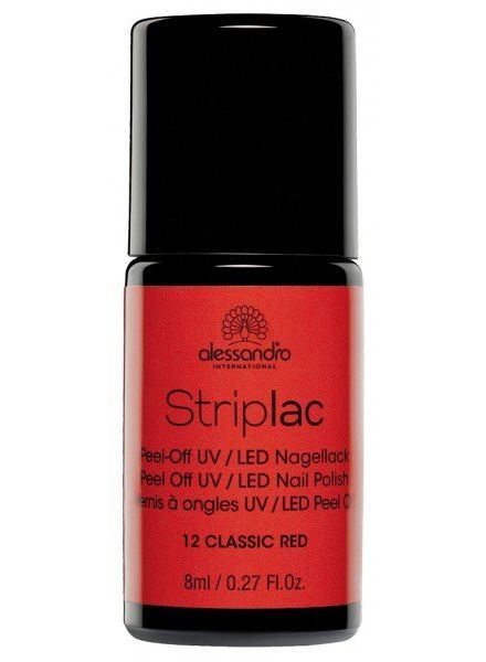 Alessandro alessandro international striplac number 12 Classic Red