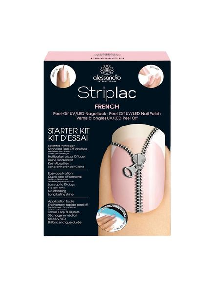 Alessandro Alessandro Striplac Starter Kit French + 1 Free Striplac
