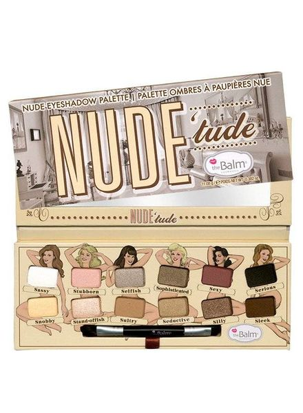 TheBalm AKTION! theBalm NUDE 'tude Nude Eyeshadow Palette