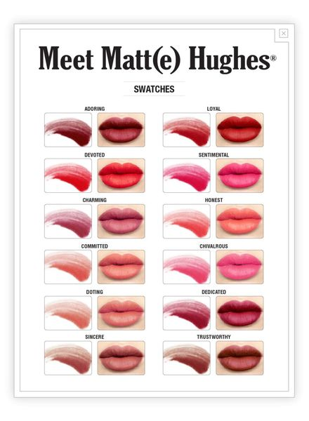 TheBalm Meet Matt (e) Hughes® Long Lasting Liquid Lipstick