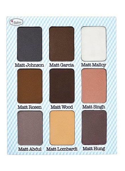 TheBalm TheBalm Meet Matt (e) Nude Nude Matte Eyeshadow Palette the