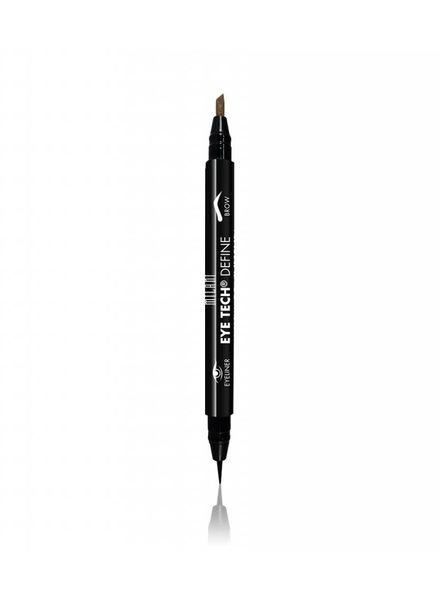 Milani Cosmetics Milani Eye Tech Define - 2-in-1 + Brow Eyeliner Felt Tip Pen-