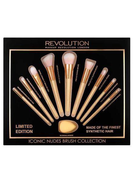 Makeup Revolution Makeup Revolution Geschenkset - Iconic Nudes Pinsel Kollektion