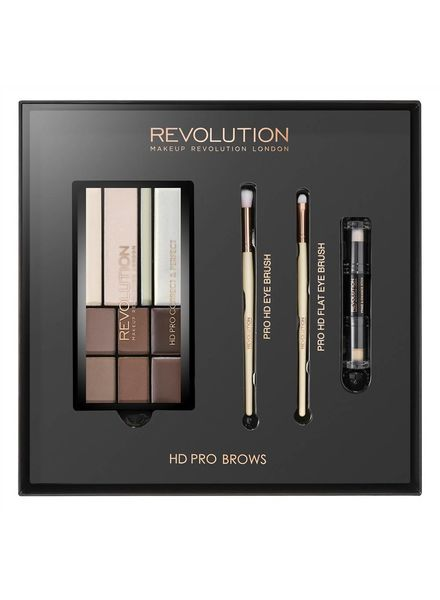 Makeup Revolution Makeup Revolution Geschenkset - HD Pro Brows