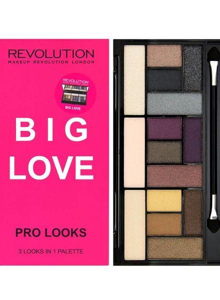 Makeup Revolution Makeup Revolution Pro Looks Lidschatten Palette Big Love