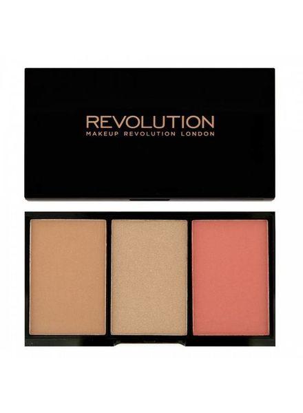 Makeup Revolution Makeup Revolution Iconic Rouge, Bronzer & Highlighter Rave