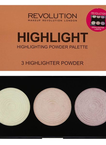 Makeup Revolution Makeup Revolution Highlighter Palette - Highlight