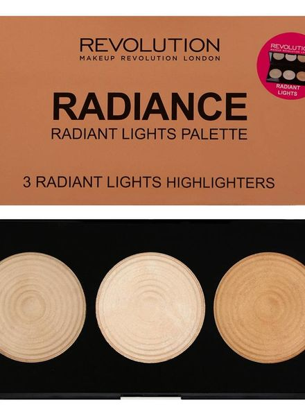 Makeup Revolution Makeup Revolution Highlighter Palette - Radiance