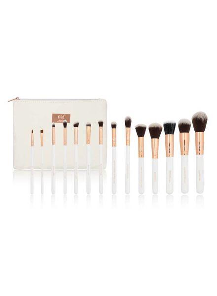 Boozy Cosmetics Boozy Cosmetics Rose Gold 14 pcs Brush Starter Set