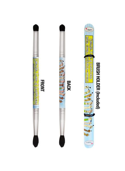 TheBalm TheBalm Crease, Love and Happiness Double-Ended Smudger Brush