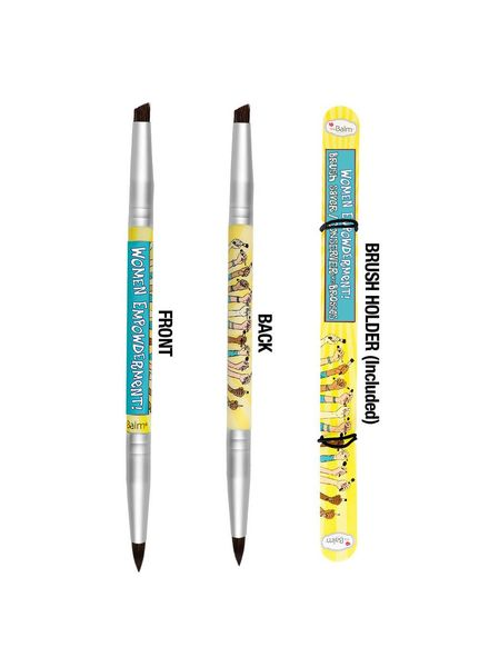 TheBalm TheBalm Women Empowderment Eyebrow/Eyeliner Brush