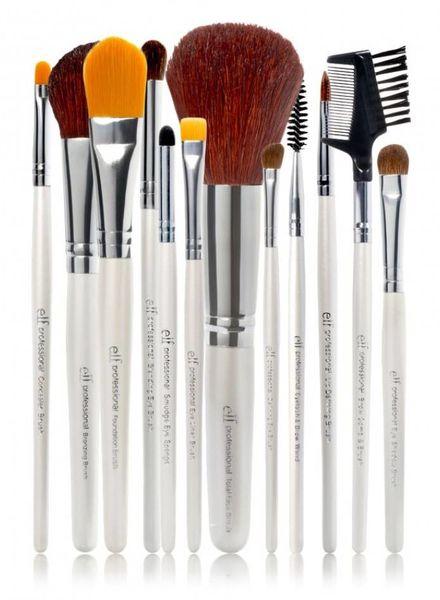 e.l.f. eyeslipsface e.l.f. of 12 makeup brush set