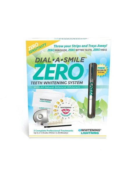 WhiteningLightning Dial a Smile ZERO Teeth Whitening System