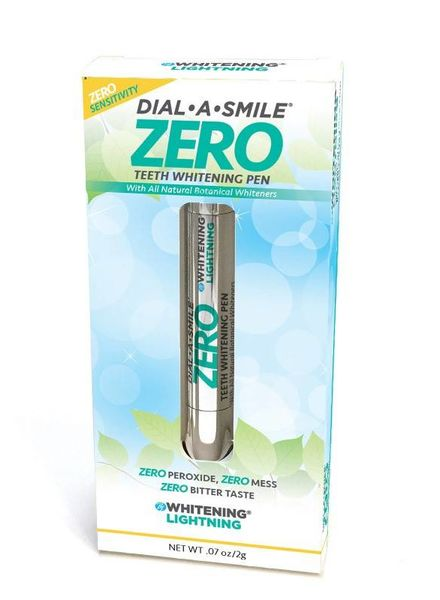 WhiteningLightning Dial a Smile ZERO Teeth Whitening Pen