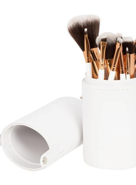 Boozy Cosmetics Boozy Cosmetics Oval Brush Cup Holder White