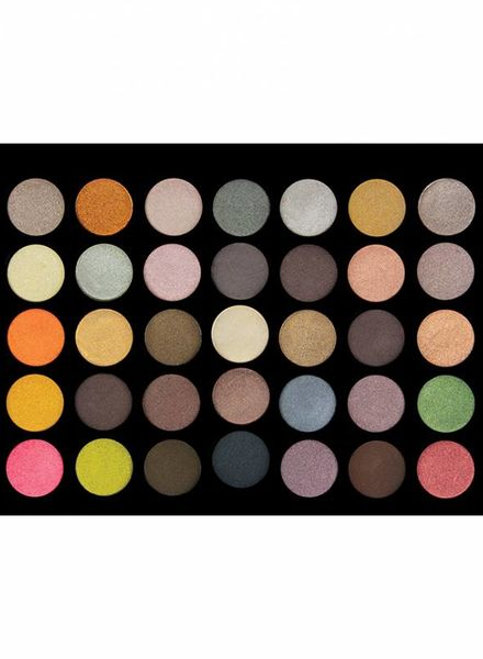 Crown Brush Crown Brush 35 Colour Metal Madness Eye Shadow Palette