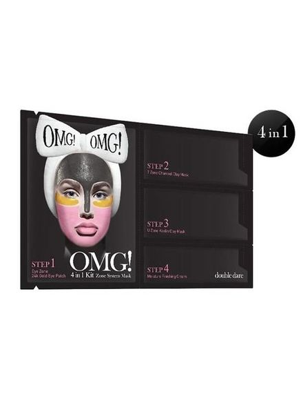 double dare OMG! 4 in 1 Kit Zone System Mask 5er Packung