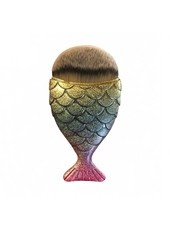 Mermaid Salon Mermaid Salon - Original Chubby Mermaid Brush - Rainbow Fish