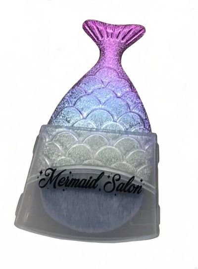 Mermaid Salon Mermaid Salon - Original Chubby Mermaid Brush - Rainbow Fish