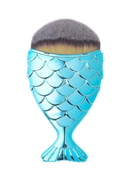 Mermaid Salon Mermaid Salon - Original Chubby Mermaid Brush - Aqua