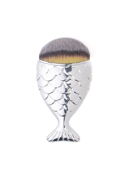 Mermaid Salon Mermaid Salon - Original Chubby Mermaid Brush - Silver