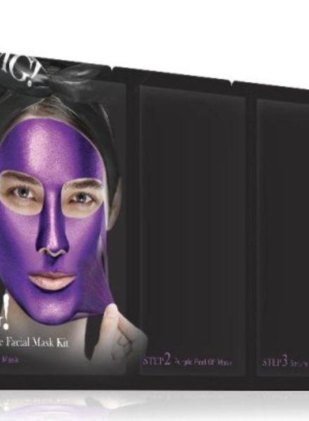 double dare OMG! Platinum Purple Gesichtsmasken Kit
