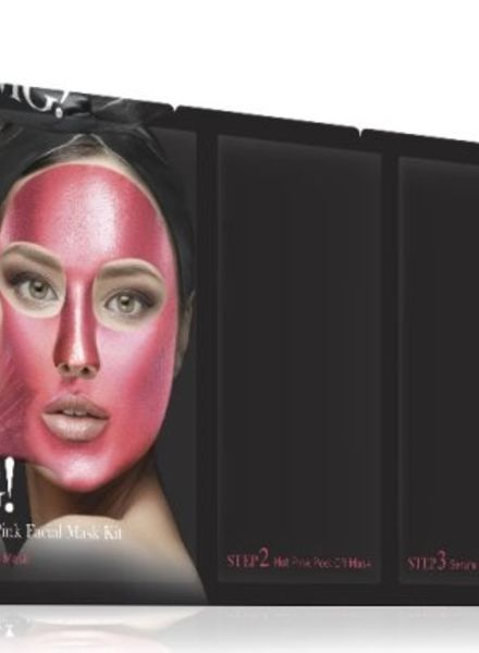 double dare OMG! Platinum Hot Pink face mask Kit