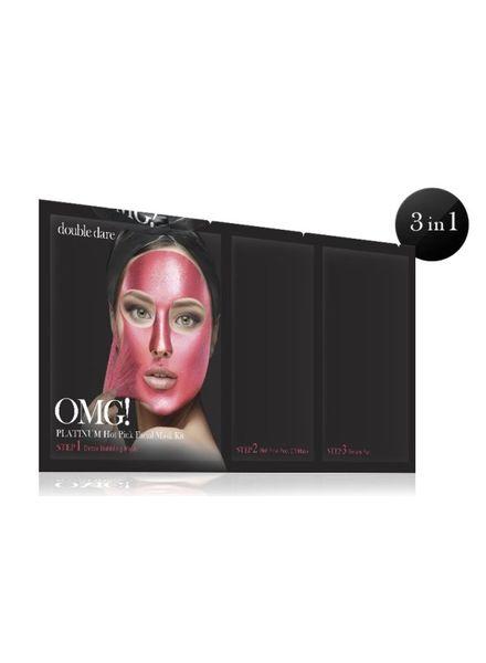 double dare OMG! Platinum Hot Pink Gesichtsmasken Kit