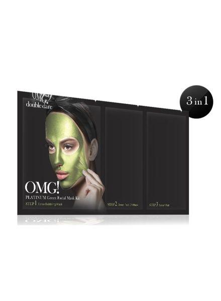 double dare OMG! Platinum Green Gesichtsmasken Kit