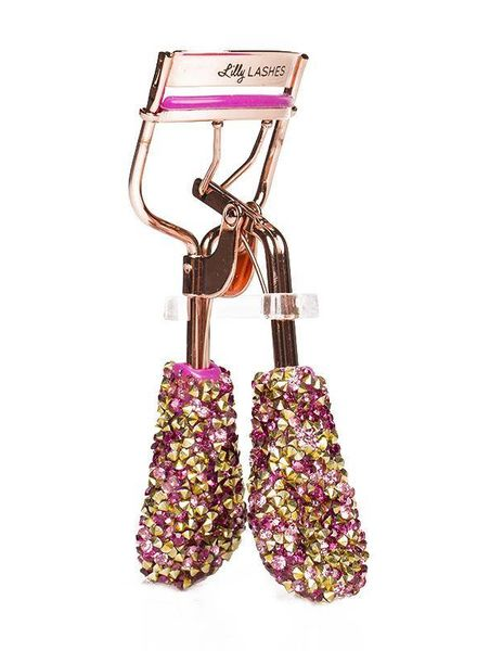 Lilly Lashes Lilly Lashes Bling On The Glam Eyelash Curler - Hot Pink
