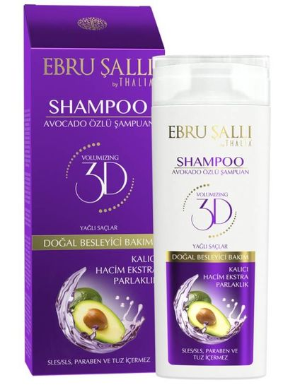 Thalia Beauty Ebru Şalli by Thalia - Volumizing Shampoo 300ml