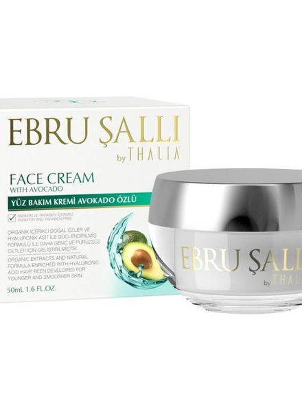Thalia Beauty EBRU Şalli by Thalia Avocado Oil Face Cream 50 ml