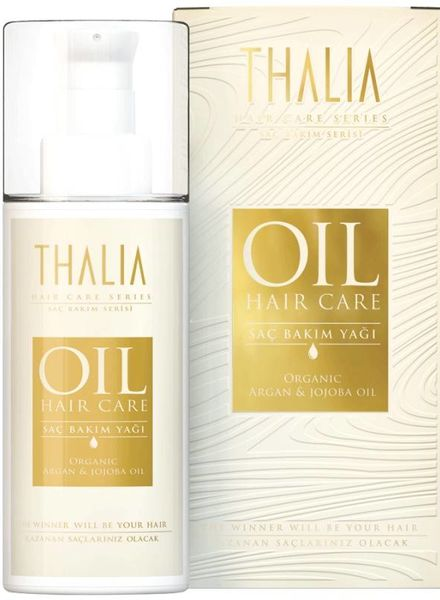 Thalia Beauty Thalia Organic Argan & Organic Jojoba Oil Hair Care